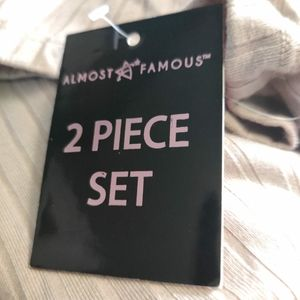 Almost famous top and pant set
